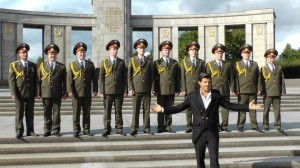 Red Army choir und Vincent Niclo