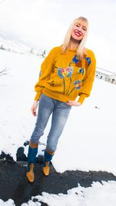 Colourful Winter Fashion
