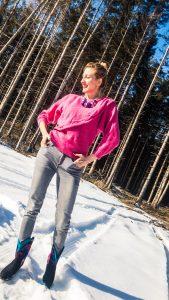 Pink Vintage Pullover